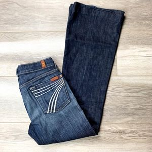 7FAMK 7 For all Mankind 'Dojo' Wide Leg Denim Jean